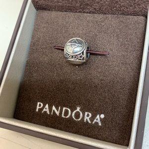 Retired zodiac Pandora charm